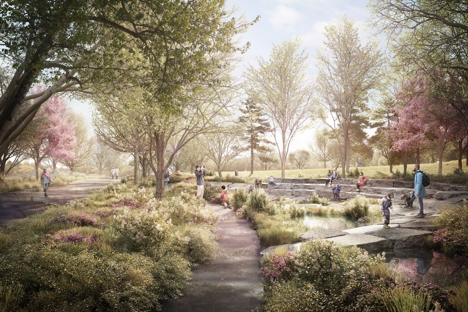 Gallery of New Renderings Released for Obama Presidential Center in Chicago - 9