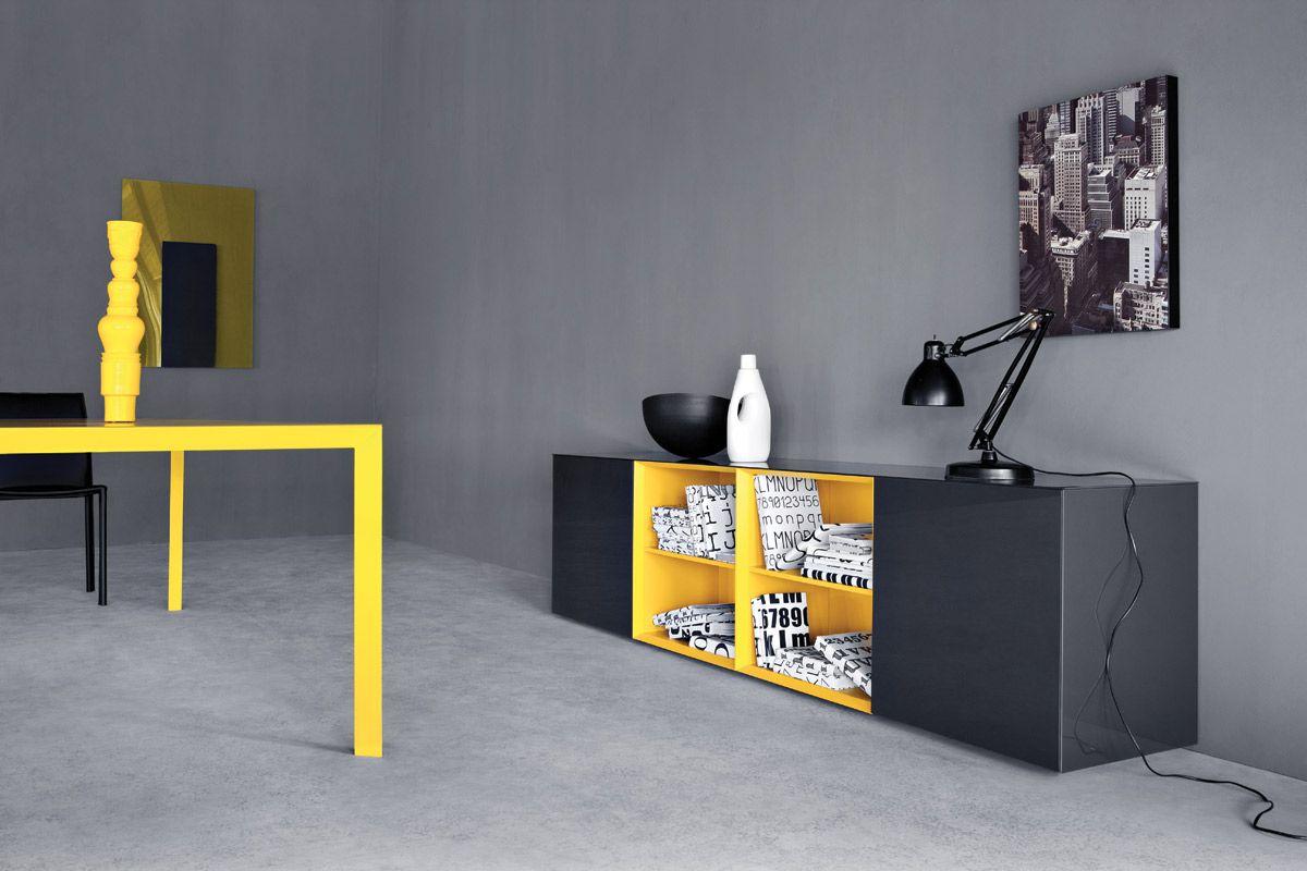 Pianca Mobili ~ Sistema modulare madie modello spazio giorno pianca design