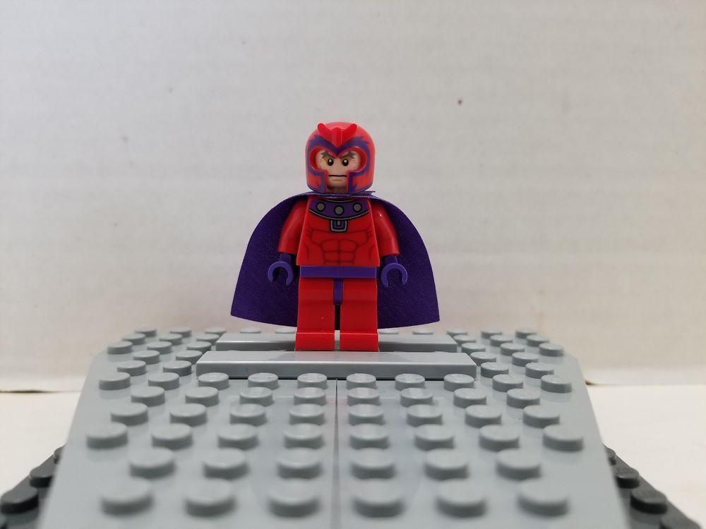 Lego Collectible Minifigure X Men Magneto 6866 Wolverines Chopper