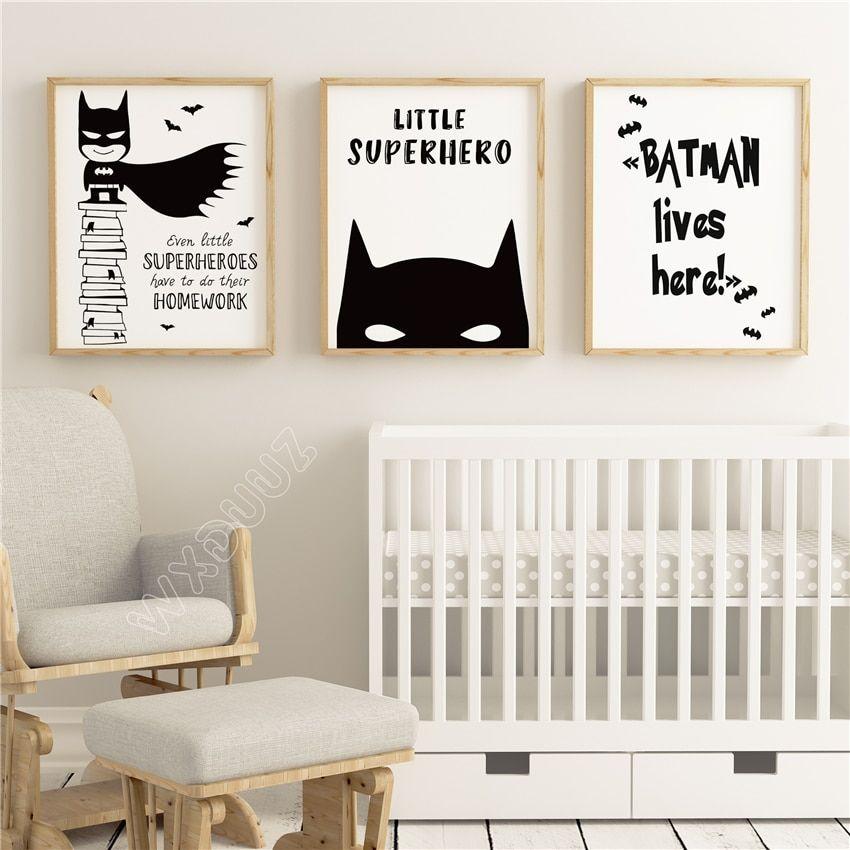 Superhero Mask Batman Art Batman Print Nursery Wall Decor Kids Room Print Kids Wall Art Kids Room Decor