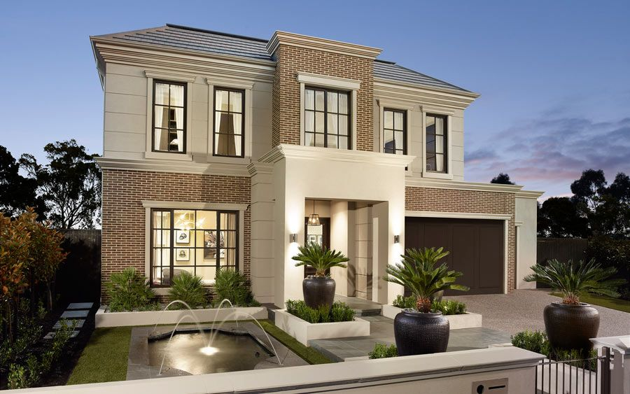 Contemporary Living With The Somerset Home Design By Metricon ...