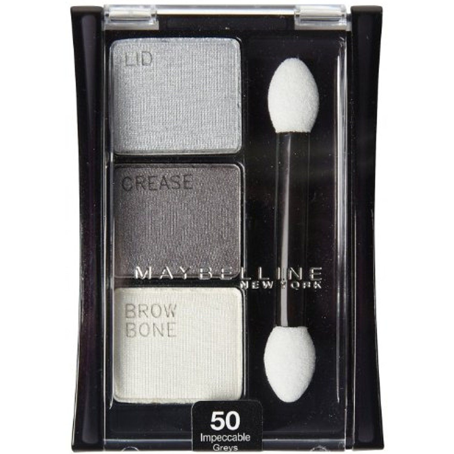 Maybelline Expert Wear Shadow Trio Impeccable Greys