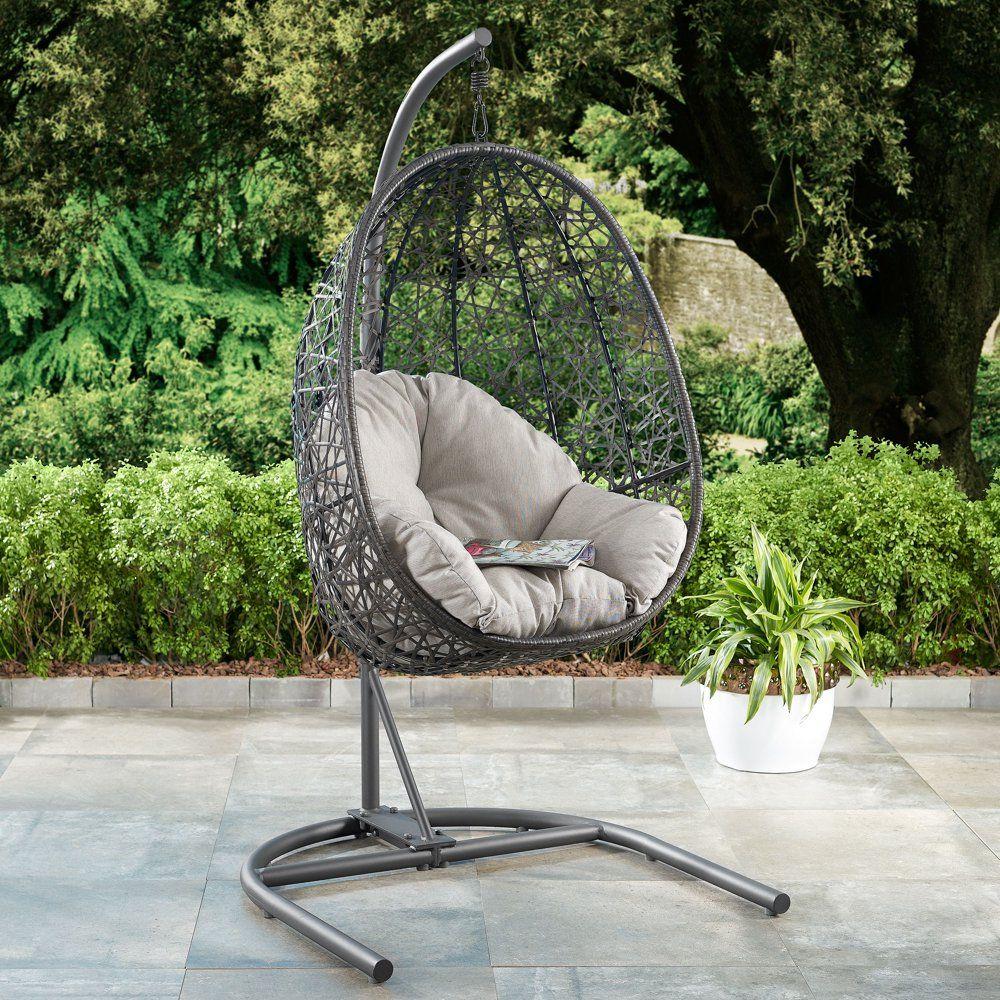 Better Homes & Gardens Open Weave Patio Wicker Hanging