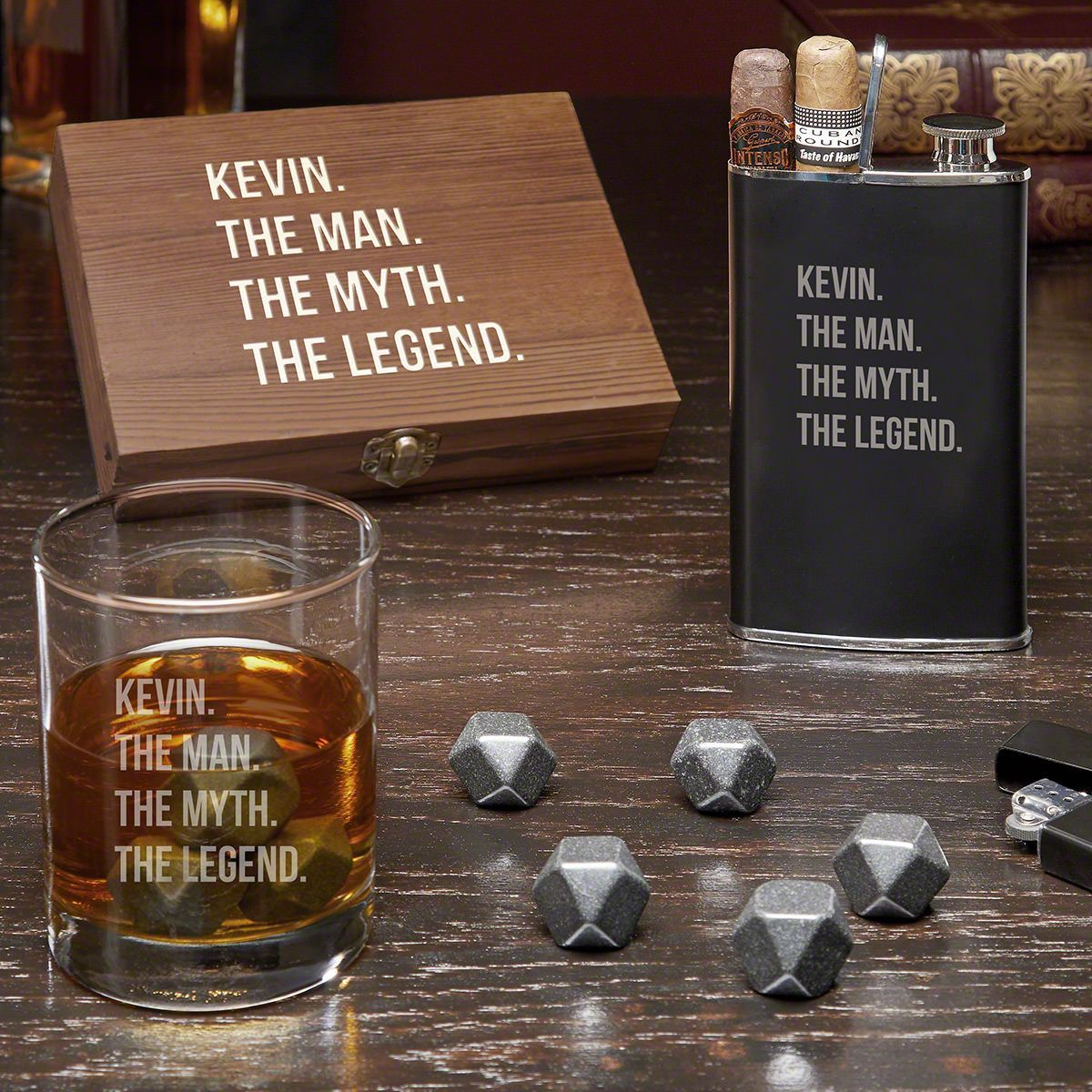 Distinguished gentleman man myth legend personalized