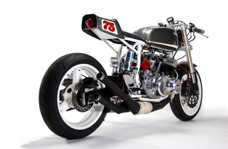 1975 Suzuki GT550 Indy Custom Cafe