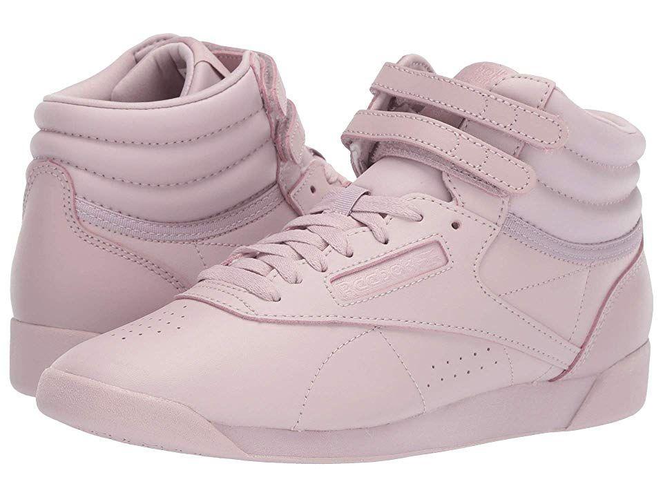 forma elegante mejor sitio Precio al por mayor 2019 Reebok Lifestyle Freestyle Hi Women's Classic Shoes Pastel Ashen ...