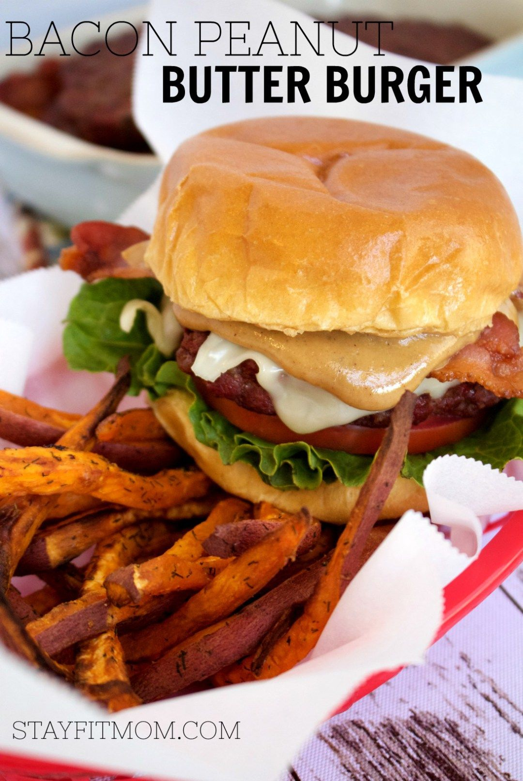 Bacon Peanut Butter Burger Recipe Peanut butter burger