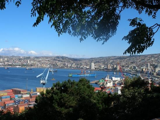 Valparaiso, Chile-colorful port city