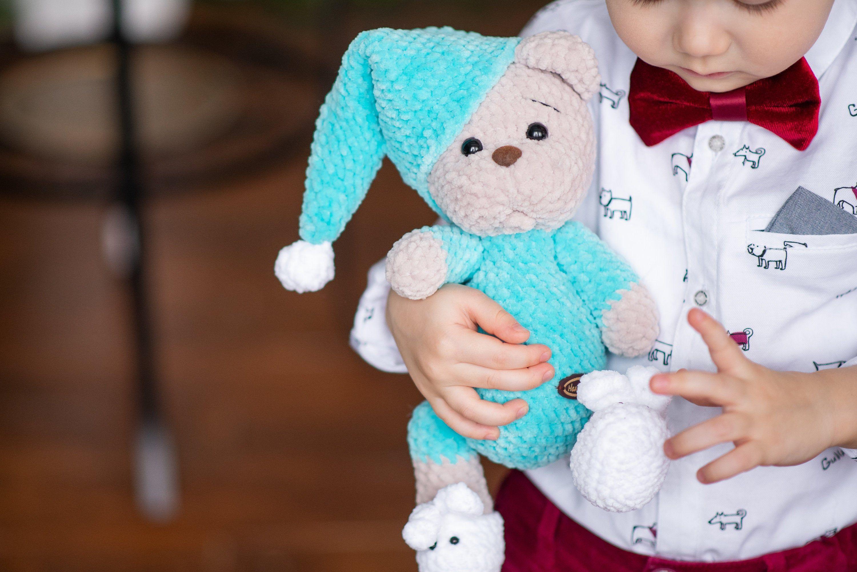 SET 3 PATTERNS Teddy Bear / Amigurumi pattern / Crochet pattern toys #teddybearpatterns