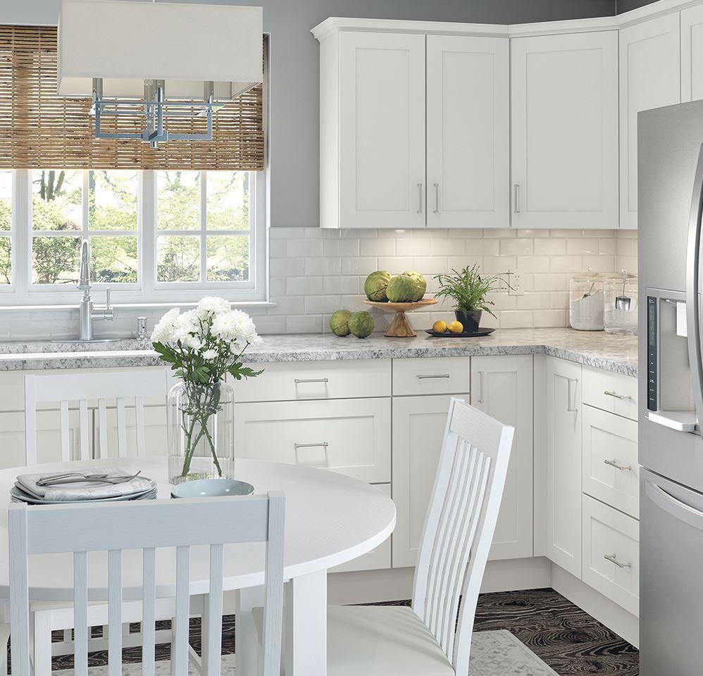 kitchen renovation with stock cabinets #budgethomeremodel ...