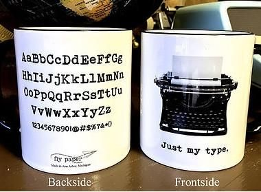 Just My Type - Mug