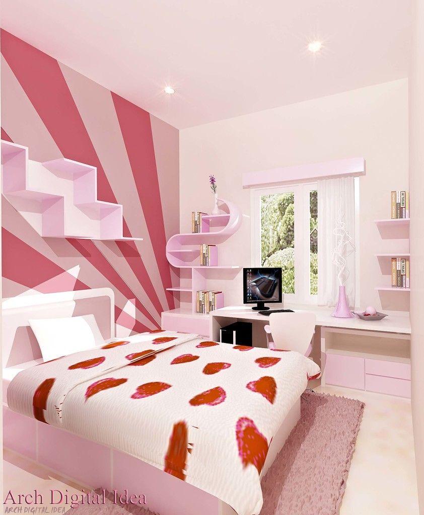 Foto Desain Kamar Tidur Remaja Perempuan   Expo Desain Rumah