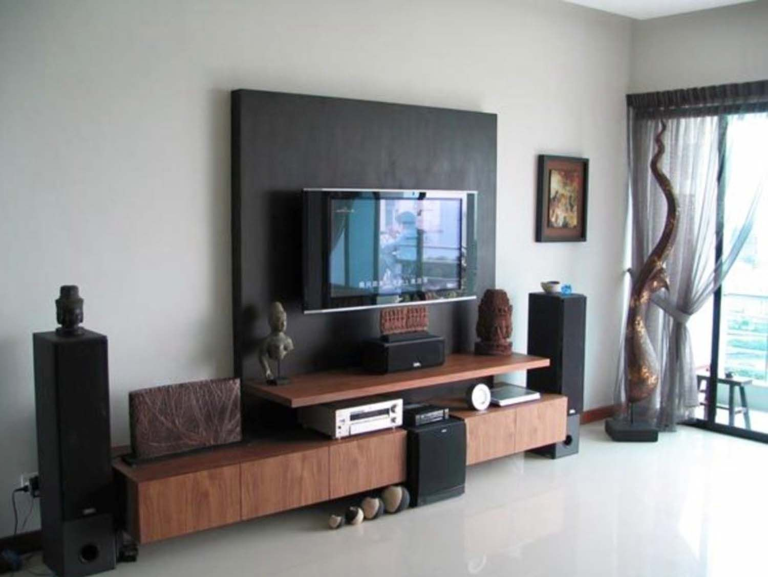 14 Modern Tv Wall Mount Ideas For Your Best Room Archlux Net Small Living Room Design Living Room Tv Living Room Tv Wall