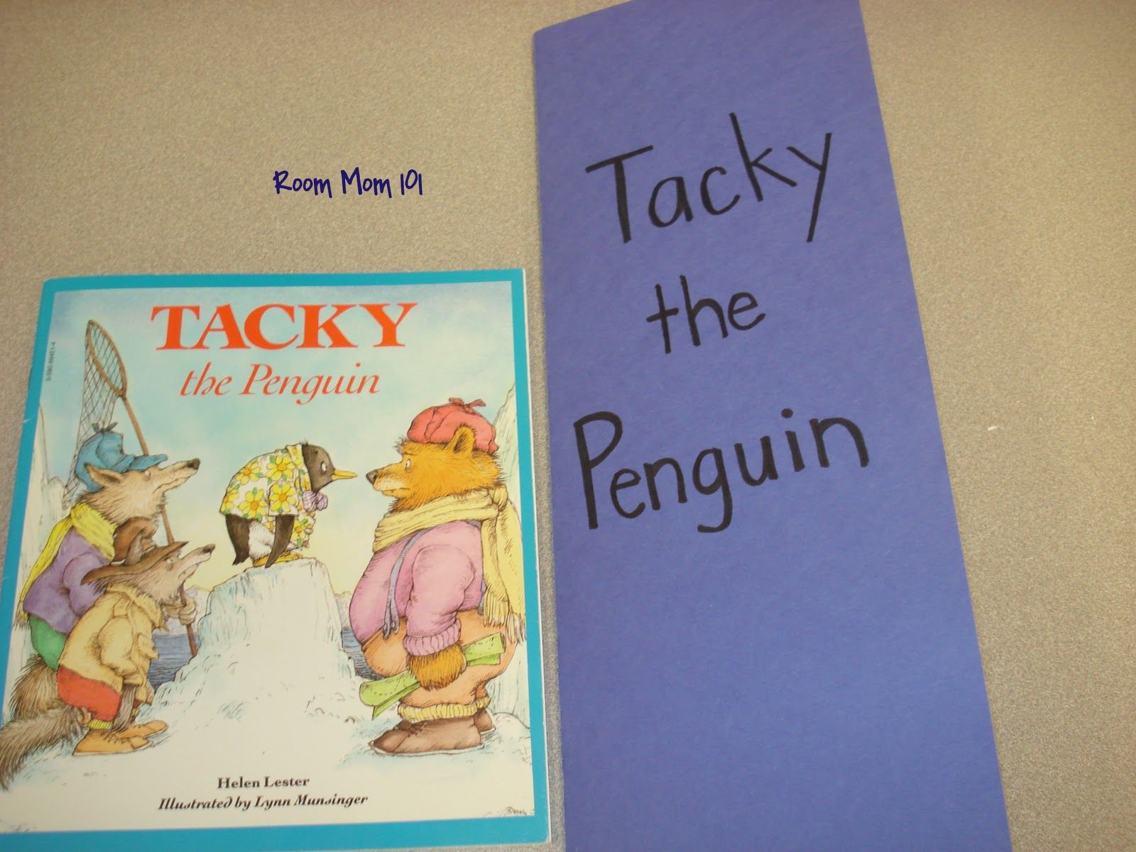 Room Mom 101 Tacky The Penguin Sequencing Activity