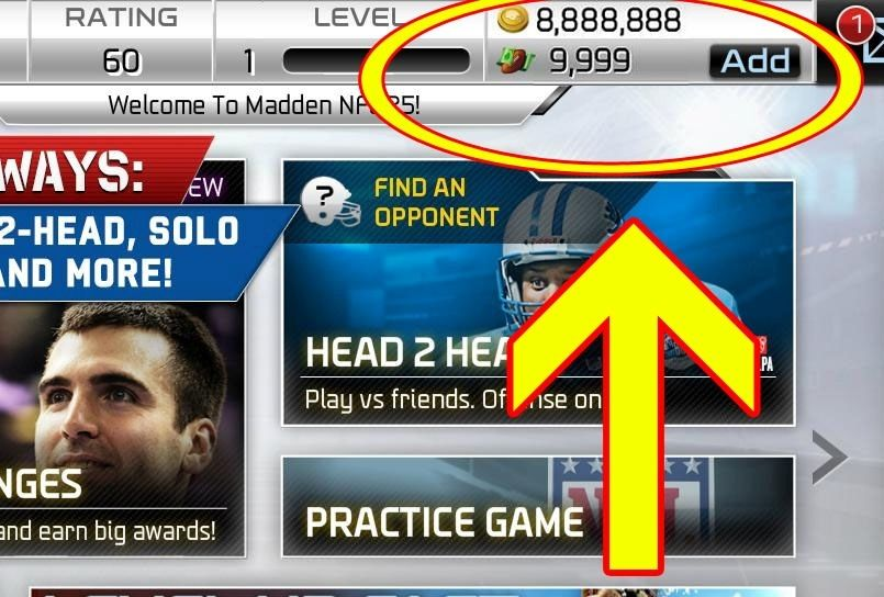 madden nfl mobile cheats free coins and cash