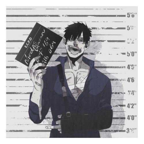 worick arcangelo Tumblr Gangsta anime, Anime gangster
