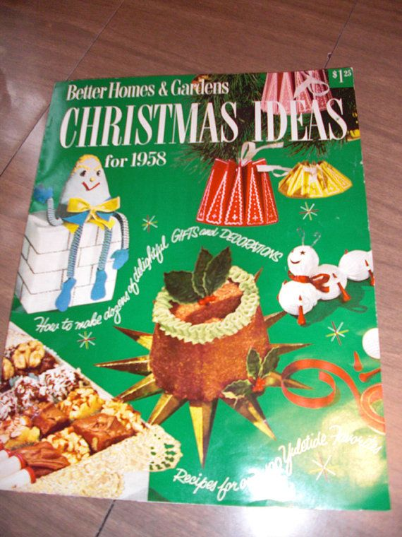 Vintage Better Homes And Gardens CHRISTMAS IDEAS By Forthebettys, $13.00