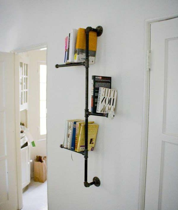 regale selber zusammenstellen metall Tür Regal Pinterest