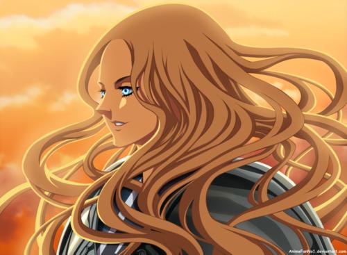 Return of Teresa Lineart & Color by AnimeFanNo1 Démons