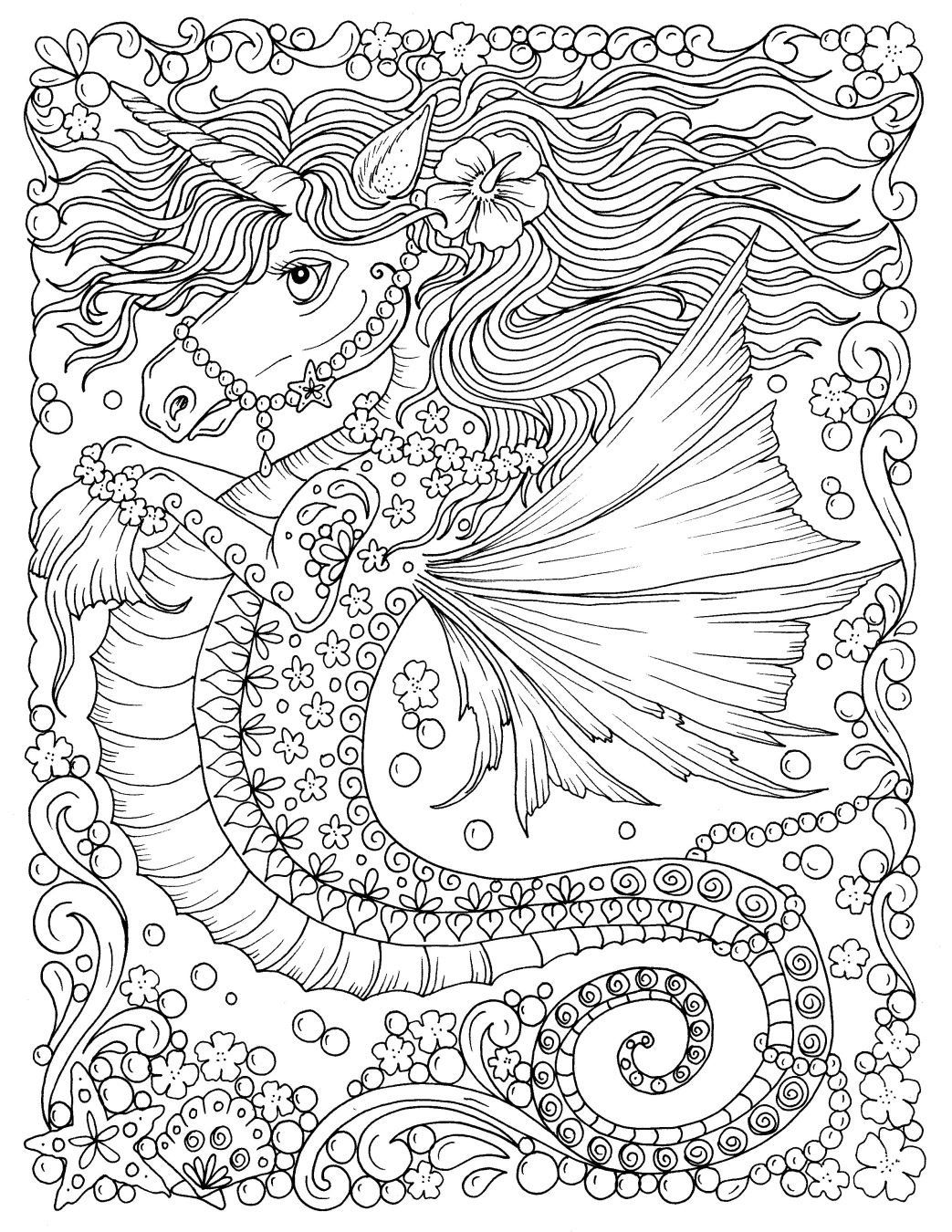 Adult Colouring Book 40 Pages Art Therapy Geometric Enchanted Forest Relax A4