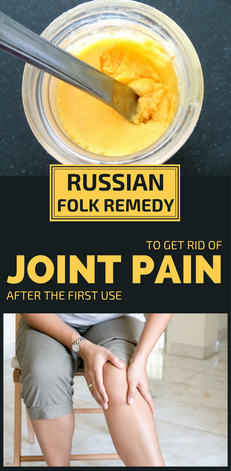Folk recipes for joint pain