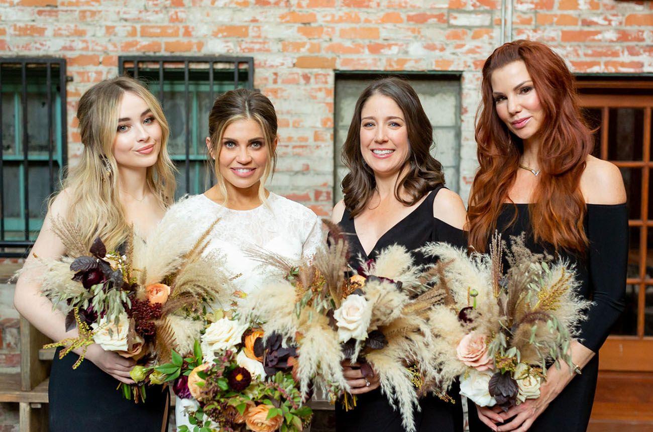 Danielle Fishel Wedding.Danielle Fishel Jensen Karp S Romantic Whimsical Wedding Day