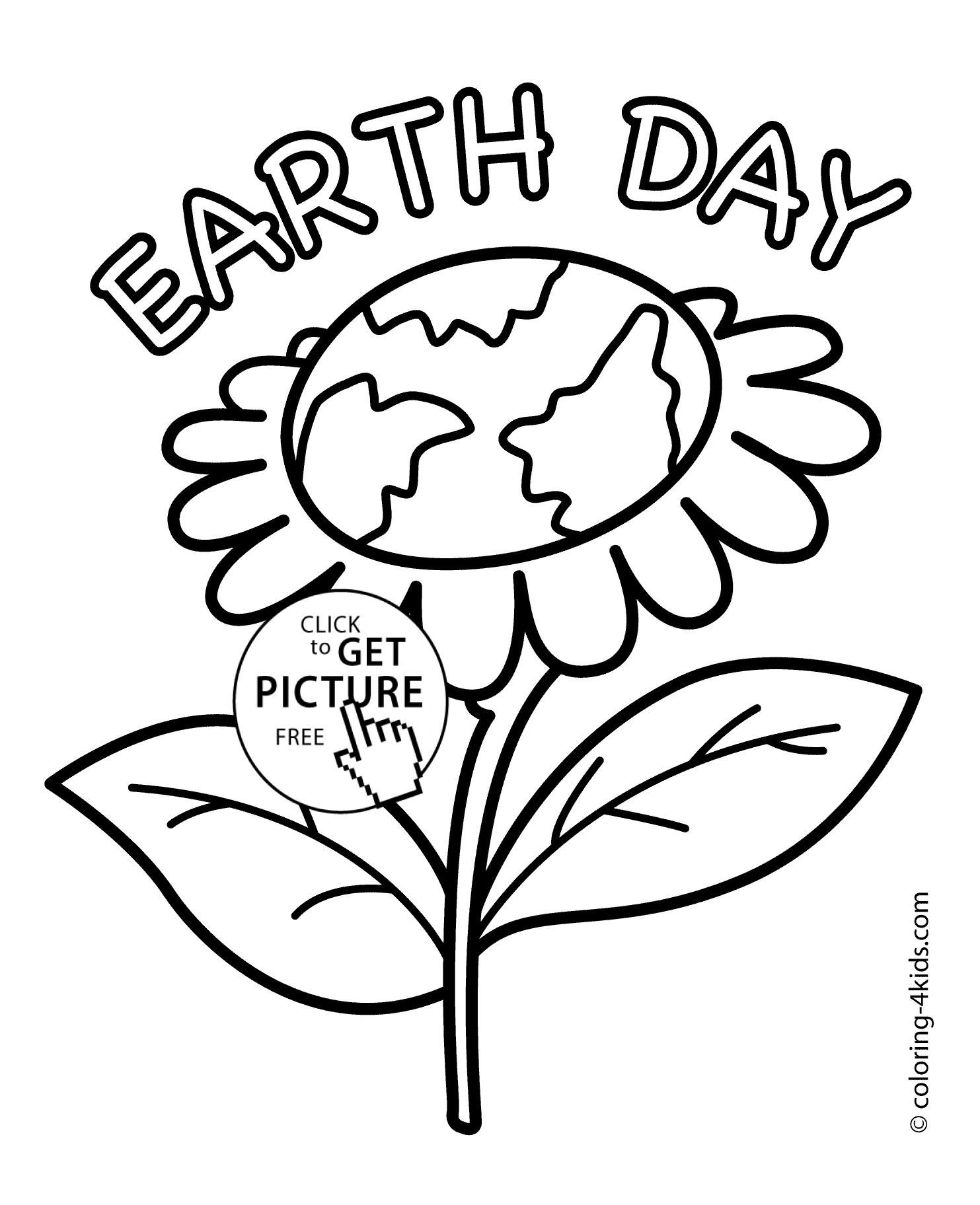 Fine Free Printable Earth Day Colouring Sheets That You Must Know