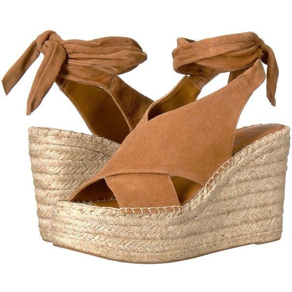 4e041526aa88 Marc Fisher LTD Andira (Cognac Kid Suede) Women s Wedge Shoes ( 170 ...