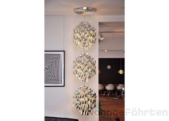 Spectacular Verpan H ngeleuchte Spiral Triple SP Ausstellungsst ck Design Verner Panton
