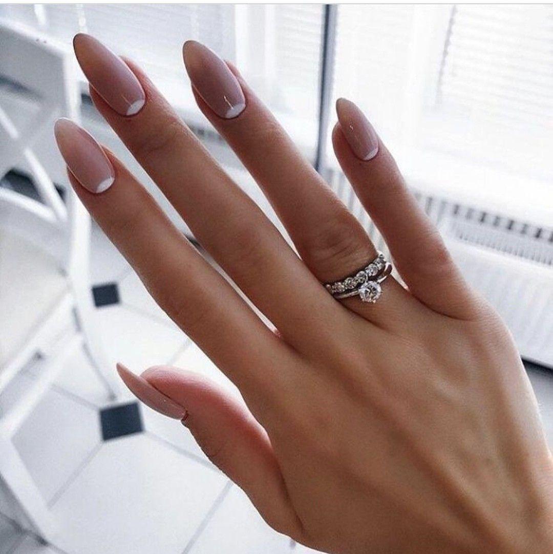 Pin by Gloria Grijalva on Маникюр | Almond nails designs ...