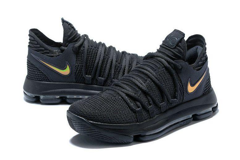 the latest c8784 2b85c ... legit cheap kevin durant nike kd 10 black dark grey mens basketball  shoes 2018 on line