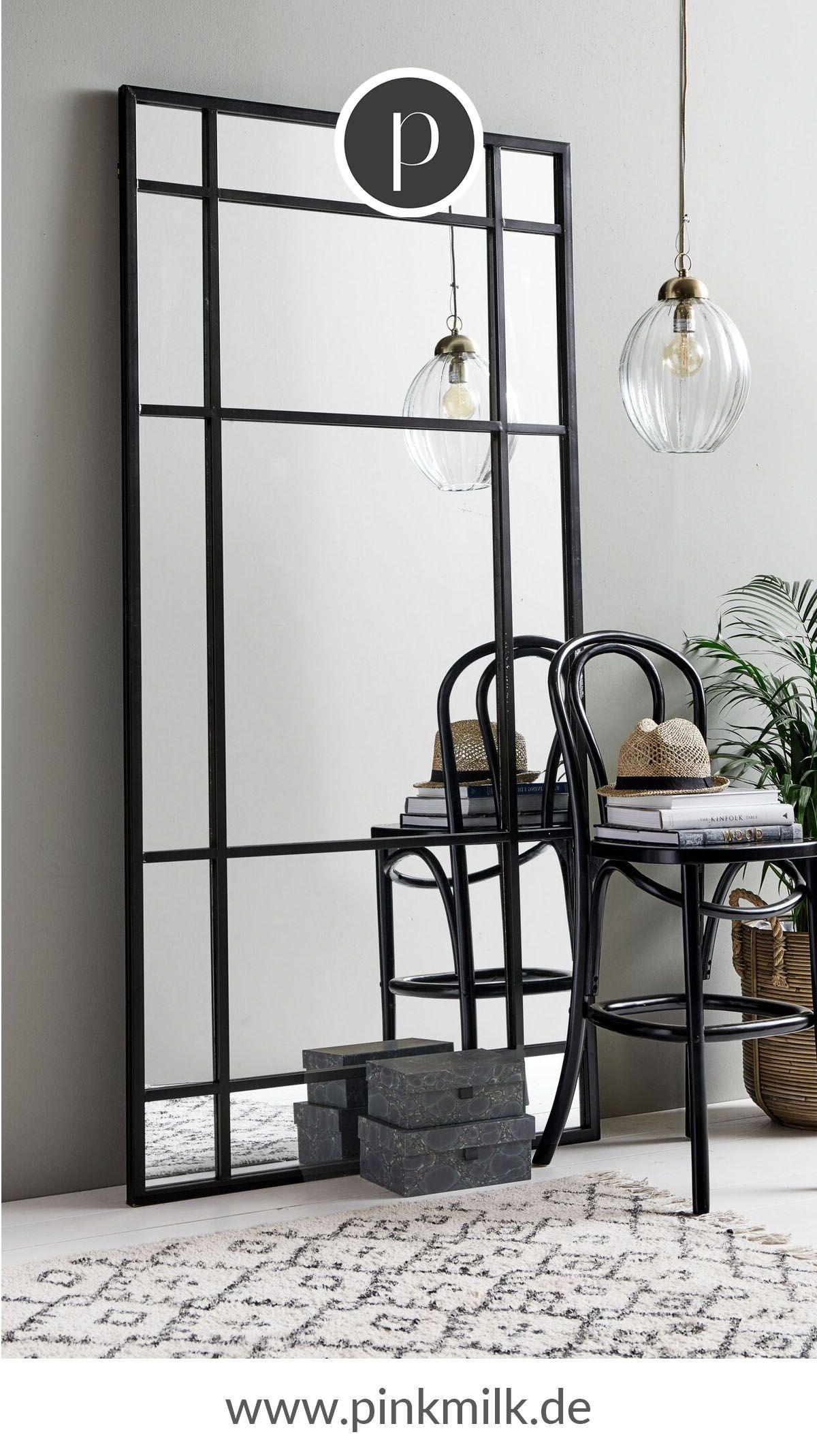Dank Der Stilvollen Und Aussergewohnlichen Form Bringt Der Spiegel Einen Modernen Touch In Deine Einrich Wandspiegel Wohnzimmer Spiegel Schlafzimmer Wandspiegel