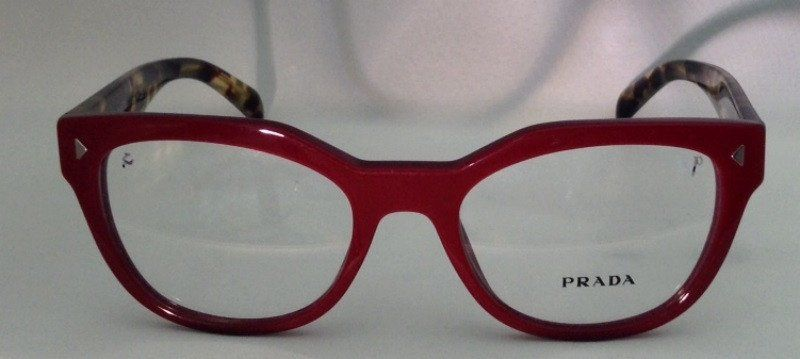 a0214c105ebb Authentic Prada eyeglass frames. Made in Italy. VPR 21S 51 19 140 USH - 101  Eggplant and brown tortoise Includes authentic Prada hard shell flip case  and ...