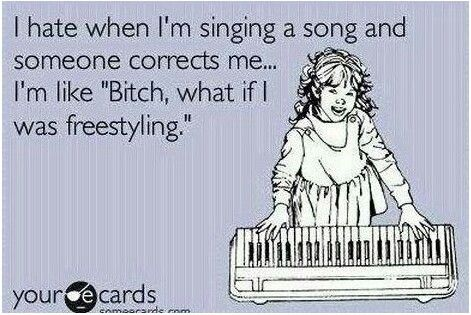 Happens on the reg!
