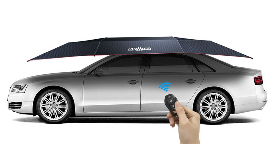 Lanmodo Car Tent Keeps Cars Cool In The Hot Sun Get Early Bird