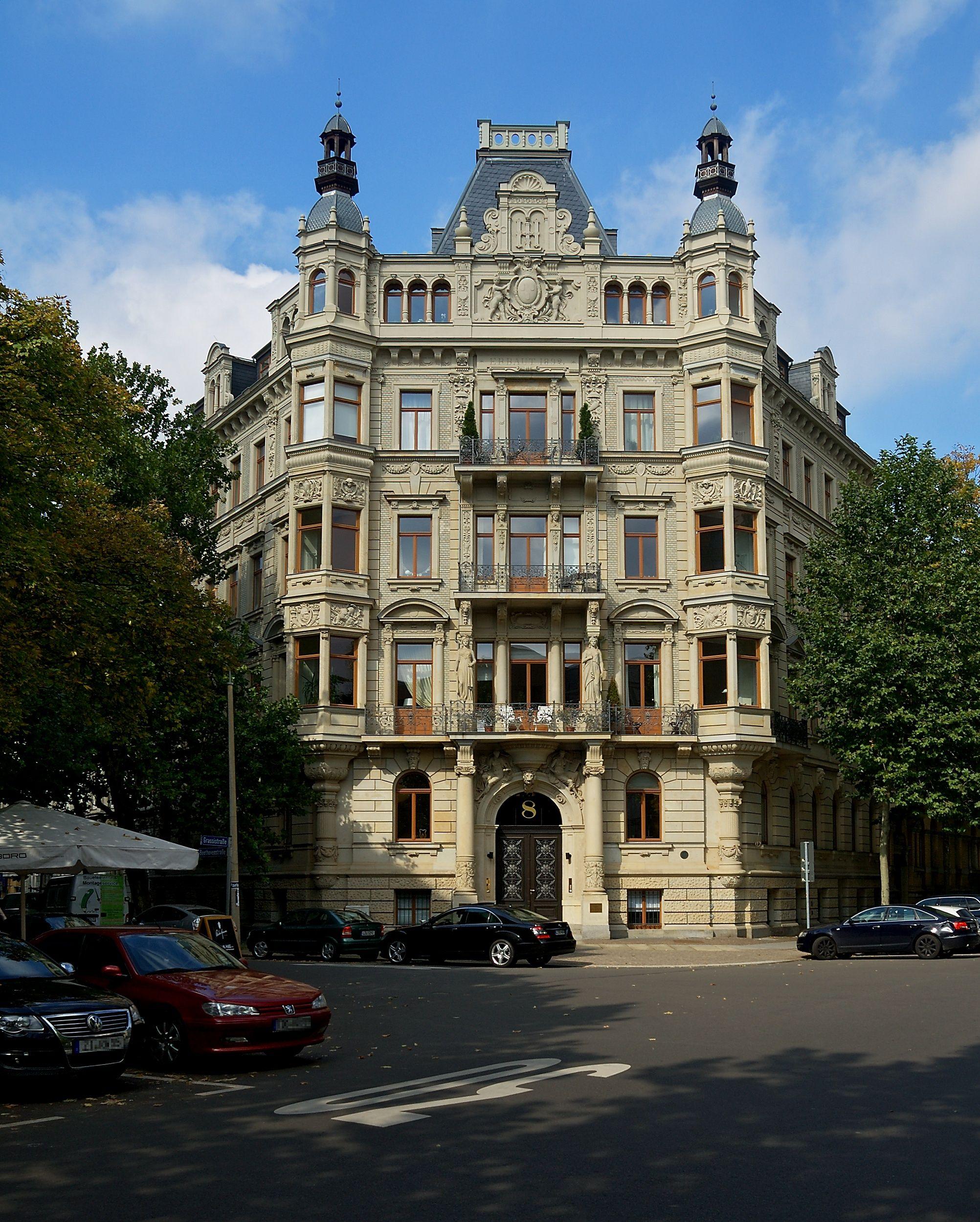 Leipzig von Ovidiu Vlaicu auf Case Architekt, Gebäude