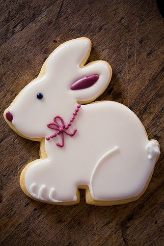 Easter Bunny Cookies by kbo, via Flickr