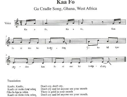 West African Song And Chants Children S Music From Ghana With