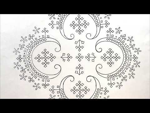 How to draw any design on a cloth | embroidery des