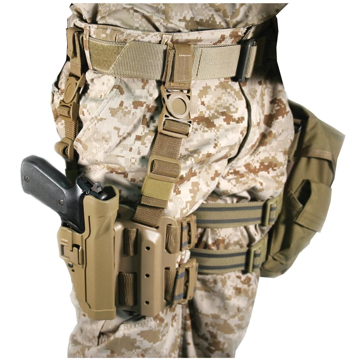 BlackHawk Military Surplus Tactical SERPA Holster   guns