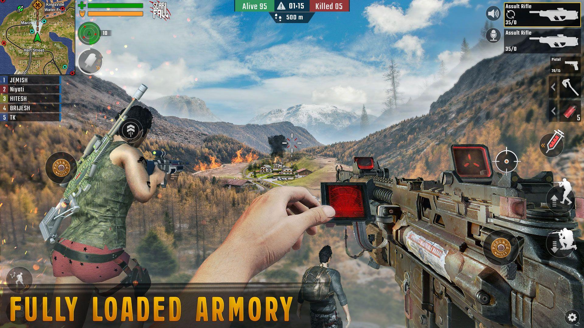 Scarfall Multiplayer Shooting Games Multiplayer Games Shooting Games Battlefield Games