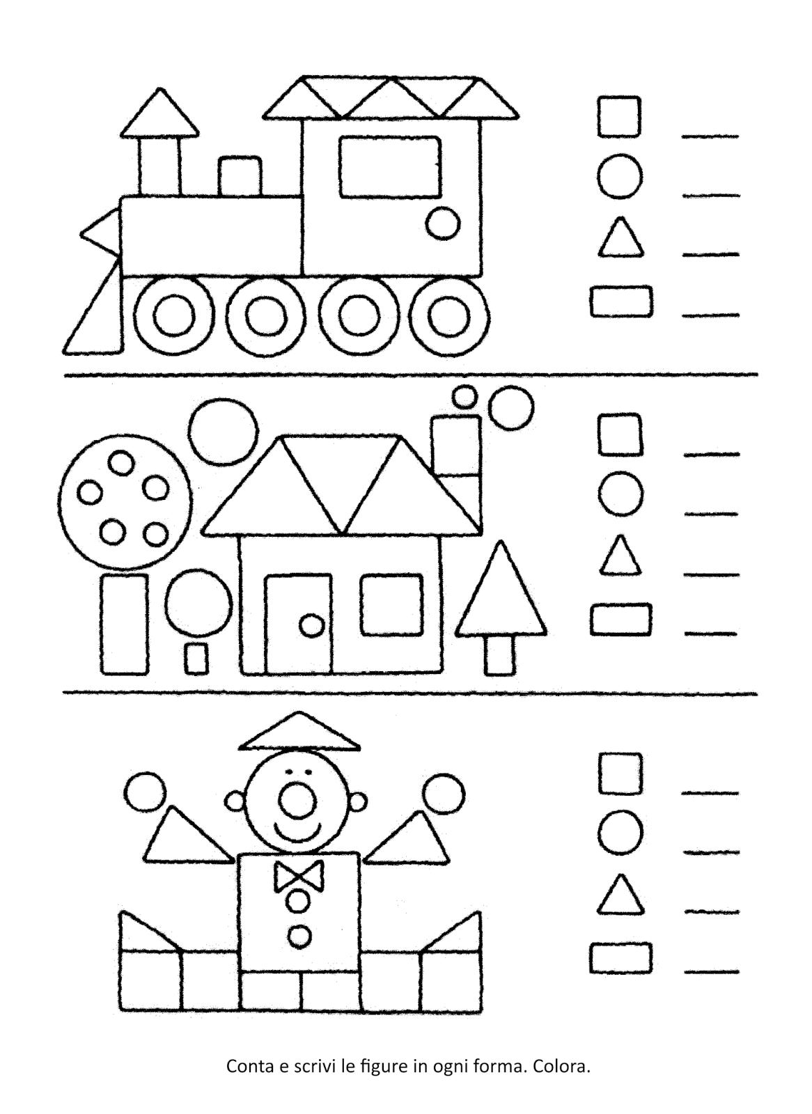 Blog scuola schede didattiche scuola dell 39 infanzia la - Libri di scuola materna stampabili gratuitamente ...