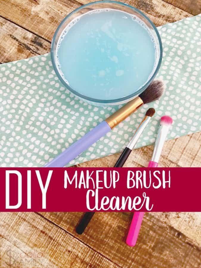Diy Makeup Brush Cleaner  Easy Way To Clean Makeup Brushes DIY Makeup Pinselreiniger  Einfache Möglichkeit zum Reinigen von Makeup Pinsel DIY Makeup Pinselreiniger...