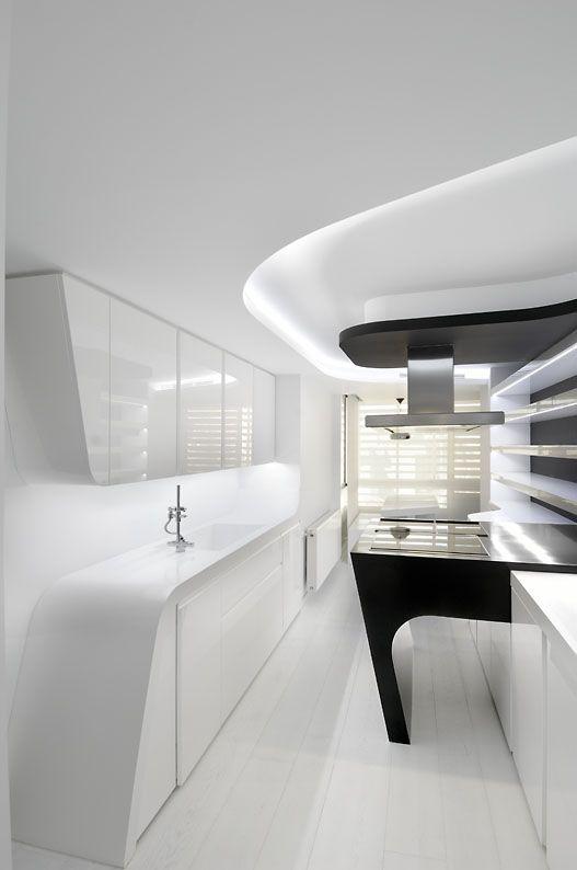 Gorgeous Futuristic Interiors by A-Cero Architecture | Futuristic ...