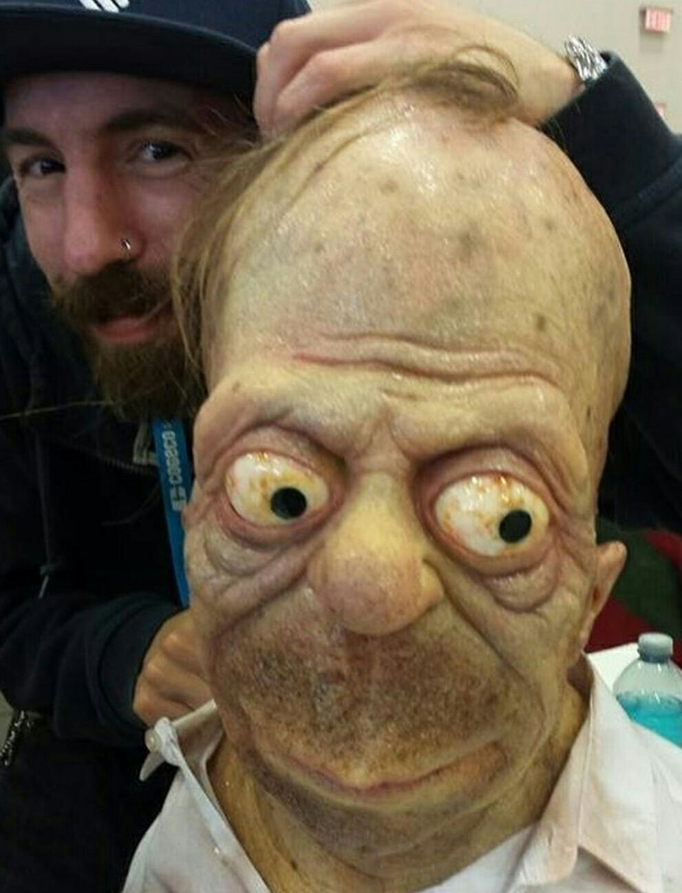 Homers Getting Old Now Album On Imgur Creepy Pictures Creepy Photos Funny Photos Ideas