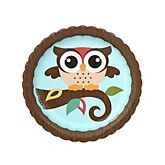 Owl - Look Whooo's Having A Baby - Baby Shower Dessert Plates - 8 Pack