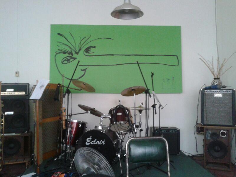 Narigón del Siglo Tela canvas sobre bastidor 2,6 x 1,3m