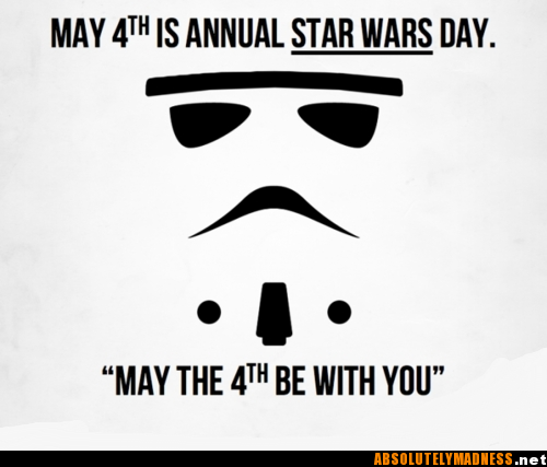 Celebrate with the droids you may or may not have been looking for.