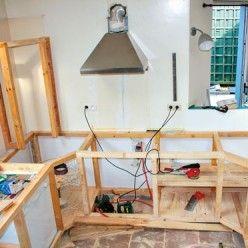 Fabriquer des meubles de cuisine avec des palettes en bois #smallkitchenorganization