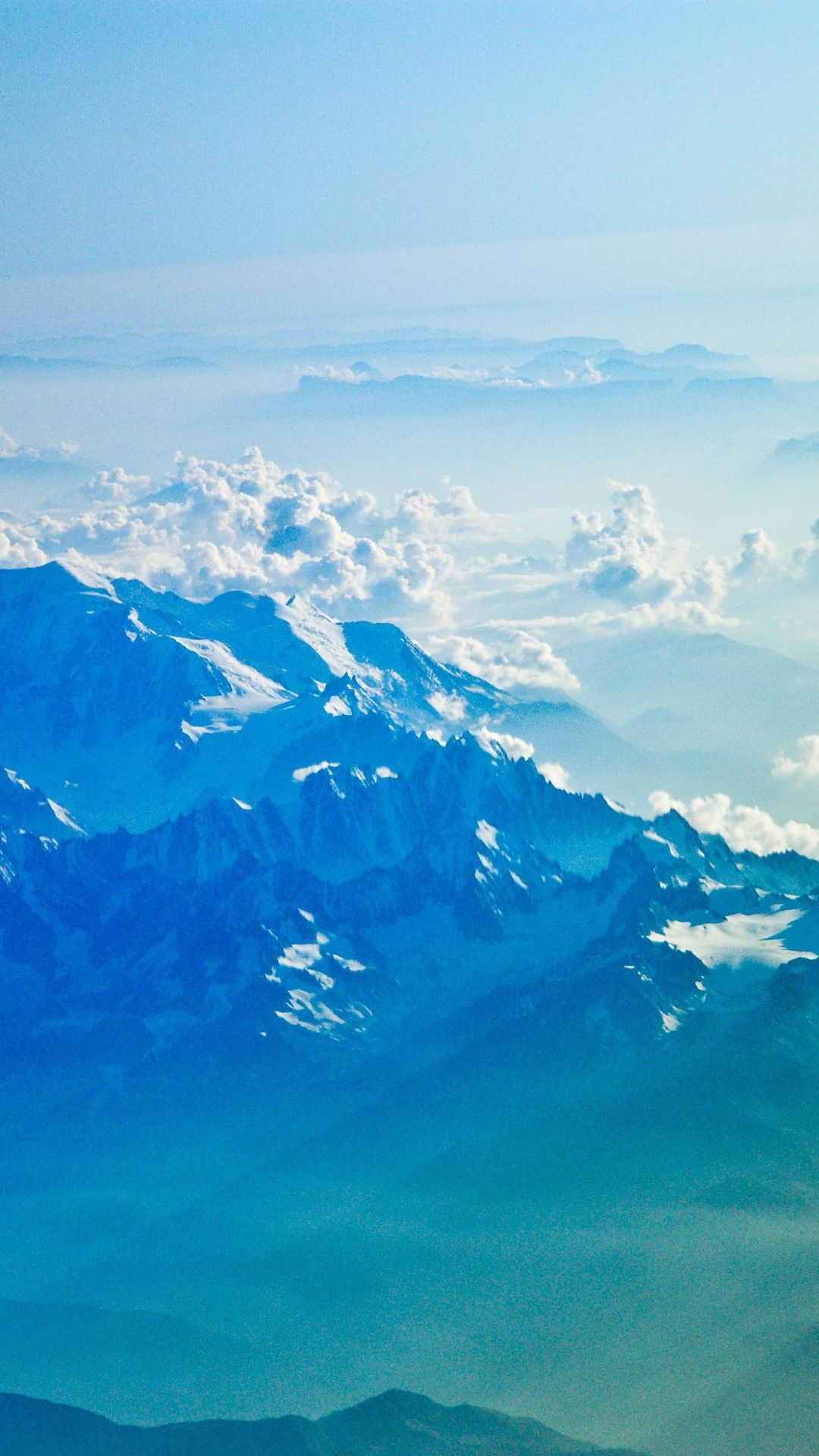 Snowy Mountains Horizon Clouds Nature 1080x1920 Wallpaper Iphone Wallpaper Landscape White Nature Wallpapers Sky